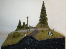 H0e diorama