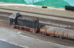 Patinovaný model DB 236 113-7