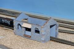 Rozestavěný model skladiště