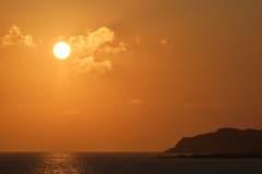 Západ slunce, Paleochora
