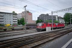 SBB Re 4/4 odstavené v Luzernu