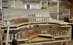 MiWuLa - rozestavěné Colosseum