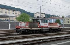Salzburg Hbf - ÖBB 1163 013-4
