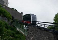 Salzburg - lanovka na hrad