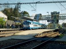 Strančice - pantograf EM475.1046