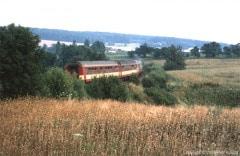 Vlak s motorovým vozem řady 853