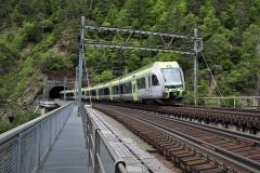 BLS RABe 535 Lötschberger, Bietschtal viaduct
